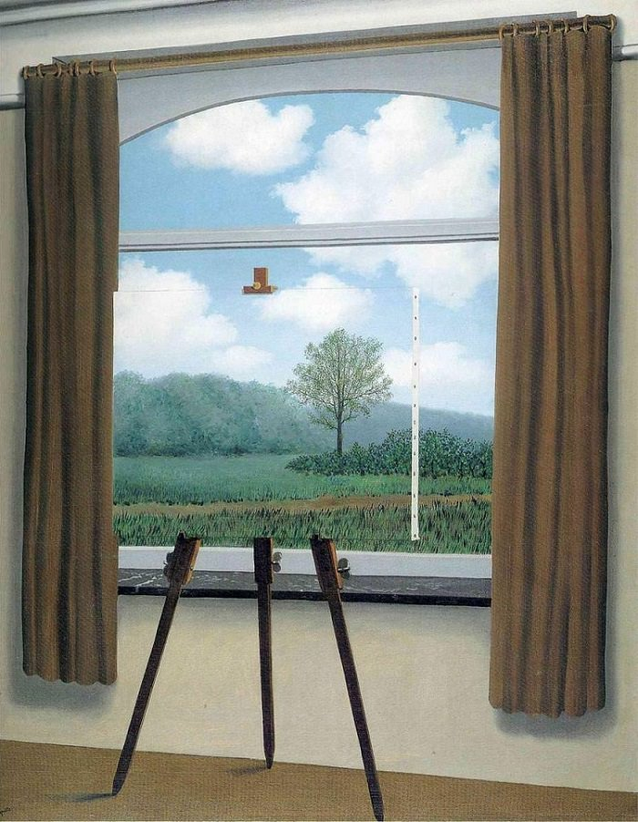the-human-condition 1933 Rene Magritte