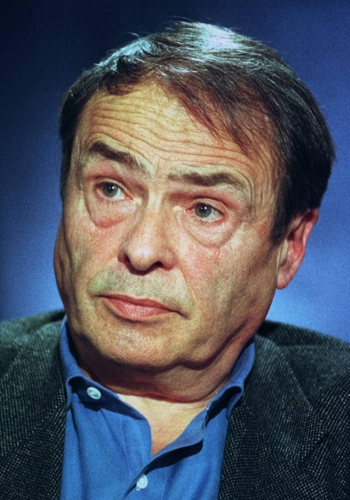 French philosopher and sociologist Pierre Bourdieu ponders a question during a conference in Paris in this Oct. 7, 1998 photo. Bourdieu died of cancer at a Paris hospital on Thursday, Jan. 24, 2002. He was 71. (AP Photo/Remy de la Mauviniere)
