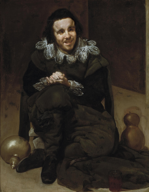 Velázquez: El Bufón Calabacillas