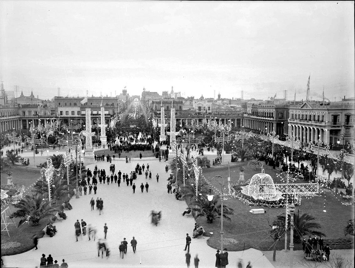 Fiesta popular ciudad vieja 1906-10